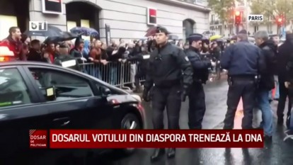 Votul din diaspora - foto captura video b1.ro