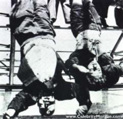 Benito Mussolini si Clara Pettacci -  foto preluat de pe cersipamantromanesc.wordpress.com