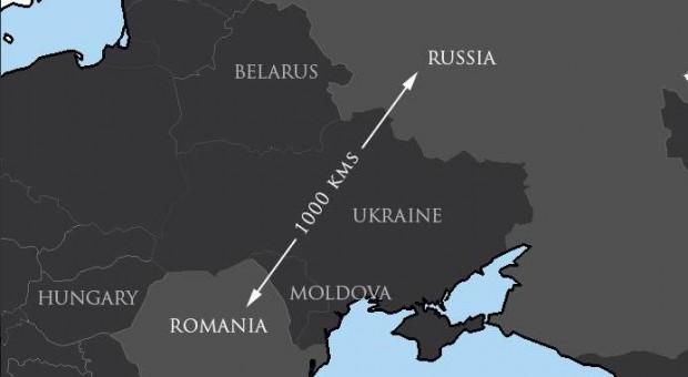 harta romania-rusia