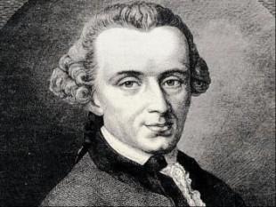 Immanuel Kant (n. 22 aprilie 1724, Königsberg/Prusia Orientală - d. 12 februarie 1804, Königsberg), a fost un filozof german, unul din cei mai mari gânditori din perioada iluminismului în Germania. Kant este socotit unul din cei mai mari filozofi din istoria culturii apusene. Prin fundamentarea idealismului critic, a exercitat o enormă influență asupra dezvoltării filozofiei în timpurile moderne. În special Fichte, Schelling și Hegel și-au dezvoltat sistemele filozofice pornind de la moștenirea lui Kant. Cei mai mulți scriitori și artiști din vremea lui au fost influențați de ideile sale în domeniul esteticii, operele lui Goethe, Schiller sau Kleist neputând fi înțelese fără referința la concepțiile filozofice ale lui Kant - foto: cersipamantromanesc.wordpress.com