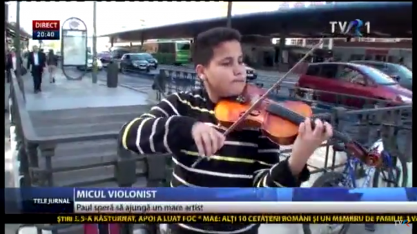 micul violonist paul madrid