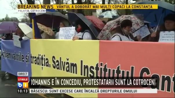 protest cantacuzino