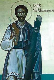 Sfântul Mucenic Sava de la Buzău. Praznuirea sa de catre Biserica Ortodoxa se face la data de 12 aprilie - foto: crestinortodox.ro