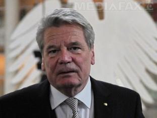 Joachim Gauck, preşedintele Germaniei - foto - mediafax.ro