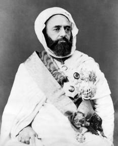 Abd el-Kader, învăţat arab - foto - en.wikipedia.org