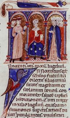 Papa  Inocentiu al IV-lea - foto preluat de pe cersipamantromanesc.com