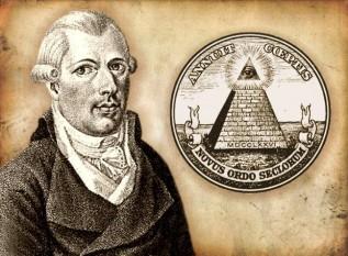 Johann Adam Weishaupt (n. 6 februarie 1748, Ingolstadt - d. 18 noiembrie 1830[1][2][3][4] Gotha) a fost un filosof, scriitor german și fondator al Ordinului Illuminatilor, societate secretă înființată în Bavaria, Germania. Weishaupt a absolvit liceul iezuit, a studiat dreptul, istoria, științele politice și filosofia. A fost profesor universitar de drept canonic (romano-catolic) - foto: cersipamantromanesc.wordpress.com