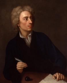 Alexander Pope (21 May 1688 – 30 May 1744) poet englez - foto - en.wikipedia.org