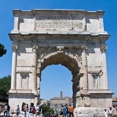 Arcul de Triumf al  lui Titus - foto preluat de pe cersipamantromanesc.wordpress.com