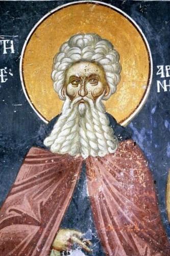 Preacuviosul Arsenie cel Mare (354-449) a fost unul din Părinţii pustiei din Egipt în prima jumătate a secolului al V-lea. Prăznuirea lui se face la data de 8 mai în Biserica Ortodoxă - foto: doxologia.ro