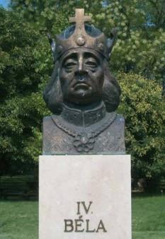 Bela al IV-lea, regele al Ungariei - foto preluat de pe cersipamantromanesc.wordpress.com