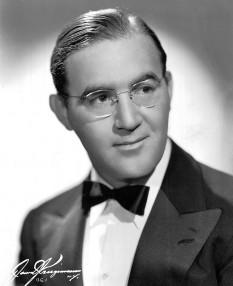 "Benjamin David ""Benny"" Goodman (May 30, 1909 – June 13, 1986) clarinetst si conducator de orchestra de jazz  american - foto - en.wikipedia.org"