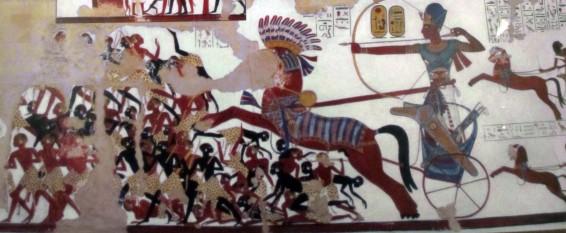Campania lui Ramses in Nubia - foto - ro.wikipedia.org