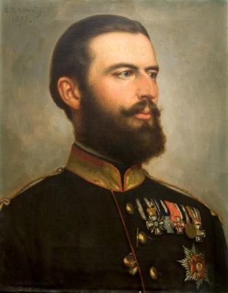 Carol I al României, Principe de Hohenzollern-Sigmaringen, pe numele său complet Karl Eitel Friedrich Zephyrinus Ludwig von Hohenzollern-Sigmaringen, (n. 20 aprilie 1839, Sigmaringen - d. 10 octombrie 1914, Sinaia) a fost domnitorul, apoi regele României, care a condus Principatele Române și apoi România după abdicarea forțată de o lovitură de stat a lui Alexandru Ioan Cuza. Din 1867 a devenit membru de onoare al Academiei Române, iar între 1879 și 1914 a fost protector și președinte de onoare al aceleiași instituții - in imagine, Portret al lui Carol I al României, de George P. A. Healy, 1873 - foto: ro.wikipedia.org
