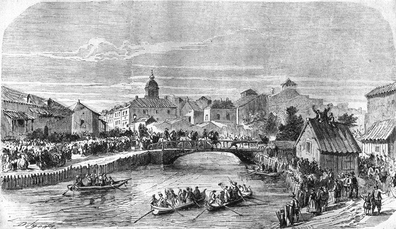 Intrarea lui Carol în București (10 mai 1866) - foto preluat de pe ro.wikipedia.org