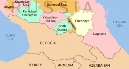 Localizarea Ceceniei - foto it.wikipedia.org