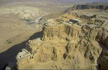 Cetatea Masada - foto preluat de pe cersipamantromanesc.wordpress.com