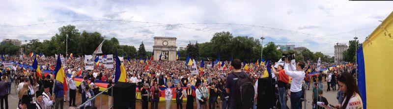 Chisinau 16 mai 2015 - foto preluat de pe facebook.com/basarabiapamantromanesc