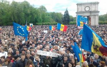 Chisinau, protest  03 mai 2015 - foto - adevarul.ro