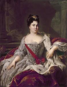 Catherine I of Russia by Nattier - foto preluat de pe ro.wikipedia.org