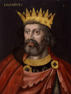 """Eduard I al Angliei (17 iunie 1239 - 7 iulie 1307) a domnit între anii 1272 și 1307, suindu-se pe tronul Angliei pe 21 noiembrie 1272 după moartea tatălui său, regele Henric al III-lea. Supranumit """"Picioare lungi"""", datorită staturii sale neobișnuit de înalte - foto cersipamantromanesc.wordpress.com"""