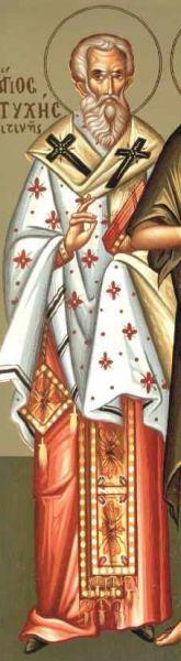 Sfântul Sfinţit Mucenic Eutihie, Episcopul Melitinei. Prăznuirea sa de către Biserica Ortodoxă se face la data de 28 mai - foto: doxologia.ro