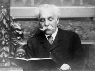 Gabriel Fauré in 1907 - foto preluat de pe en.wikipedia.org