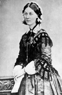Florence Nightingale (n. 12 mai 1820 - d. 13 august 1910) precursoarea serviciului sanitar modern - foto - cersipamantromanesc.wordpress.com