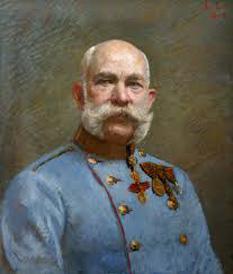 Franz Joseph I, Împăratul Austriei ( 1848-1916) - foto preluat de pe cersipamantromanesc.wordpress.com
