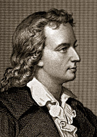 Friedrich von Schiller - foto preluat de pe cersipamantromanesc.wordpress.com