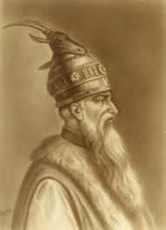 Eroul poporului albanez  Gerge Kastrioti - foto preluat de pe cersipamantromanesc.wordpress.com