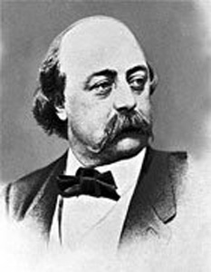 Gustave Flaubert (12 December 1821 – 8 May 1880) was an influential French novelist who was perhaps the leading exponent of literary realism in his country  foto: cersipamantromanesc.wordpress.com