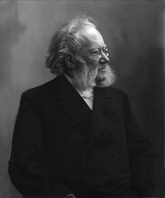 Henrik Ibsen, dramaturg norvegian - foto - en.wikipedia.org