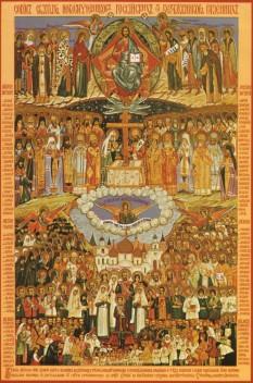 Icoana sfinților neomartiri și mărturisitori ruși. Patriarhia Moscovei - foto - cubreacov.wordpress.com