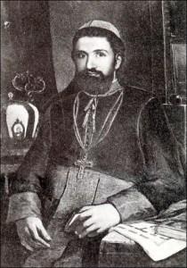 Episcopul greco-catolic Ioan Inochentie Micu - foto preluat de pe cersipamantromanesc.wordpress.com