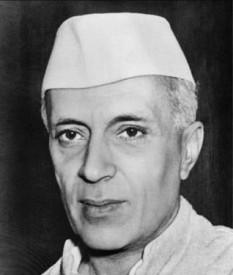 Jawaharlal Nehru, fost prim ministru al Indiei - foto - en.wikipedia.org