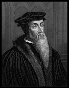 Jean Calvin - foto preluat de pe cersipamantromanesc.wordpress.com