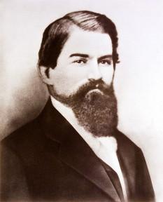 John Pemberton (n. 8 iulie 1831 — d. 16 august 1888) farmacist american, inventatorul băuturii răcoritoare Coca-Cola -  foto - ro.wikipedia.org