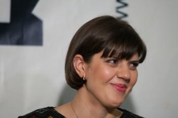 Laura Cotruţa Kovesi, la primirea premiului GDS, 12 martie 2015 (Epoch Times România)