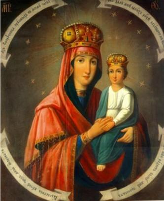 """Icoana Maicii Domnului din Moscova """"Chezașa celor păcătoși"""", Cinstirea sa de către Biserica Ortodoxă se face la data de 29 mai - foto: doxologia.ro"""