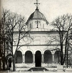 Biserica Manastirii Cotroceni - foto preluat de pe cersipamantromanesc.wordpress.com