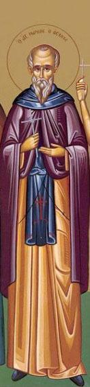 Sfântul Cuvios Marcu Pustnicul. Prăznuirea sa de către Biserica Ortodoxă se face la data de 20 mai - foto: doxologia.ro