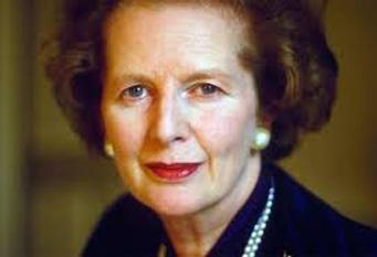 Margaret Hilda Thatcher, Baroneasă Thatcher, (n 13 octombrie 1925 - d. 8 aprilie 2013), om politic britanic, prim-ministru al Regatului Unit între 1979 și 1990 - foto: cersipamantromanesc.wordpress.com