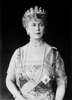 Mary de Teck, soţia regelui George al V-lea al Regatului Unit - foto - en.wikipedia.org