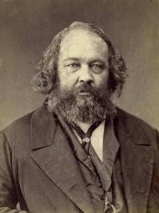 """Mihail Alexandrovici Bakunin (n. 30 mai 1814, Priamuhino, gubernia Tver, Imperiul Rus, d. 1 iulie 1876, Berna, Elveția) a fost un cunoscut revoluționar rus, considerat de mulți """"tatăl anarhismului modern"""" - foto - ro.wikipedia.org"""