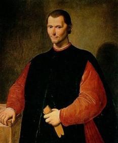 Niccolò Machiavelli, scriitor, om politic și istoric italian - foto preluat de pe cersipamantromanesc.wordpress.com
