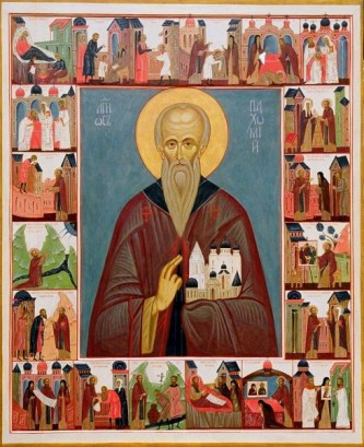 Preacuviosul Pahomie cel Mare (292 - 9 mai 346) a fost un mare ascet egiptean, în același timp un Părinte al pustiei și întemeietor al monahismului de obște (cenobitic) în Egipt. Prăznuirea lui în Biserica Ortodoxă se face la 15 mai, iar în Biserica Catolică la 9 mai - foto: doxologia.ro