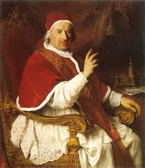 Benedict al XIV-lea - foto preluat de pe cersipamantromanesc.wordpress.com