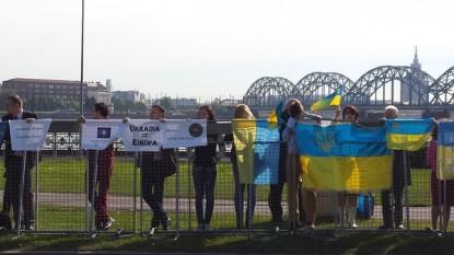 Protest la Riga - foto - gandul.info