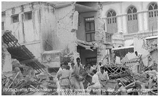 Quetta, capitala provinciei Belucistan-Pakistan-1935